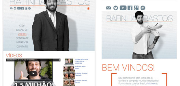 Novo site do Rafinha Bastos